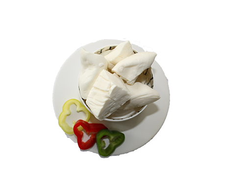 cheese-plate-pepper-green-red-yellow